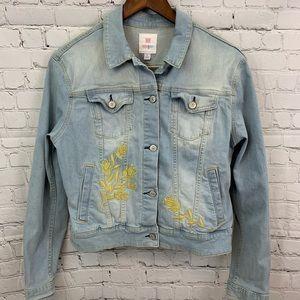 NWOT Lularoe Harvey denim Jacket